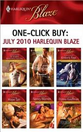 One-Click Buy: July 2010 Harlequin Blaze: Ambushed!\The Braddock Boys: Brent\The Tutor\My Fake Fiancee\Simon Says...