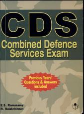 CDS  Combined Defence Service Exam  PDF