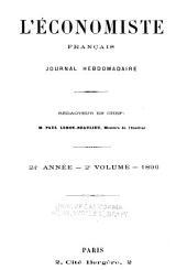 L'Economiste français: Volume2;Volume24