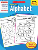 Scholastic Success with Alphabet  Grade Pre K