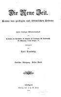 Die Neue Zeit PDF