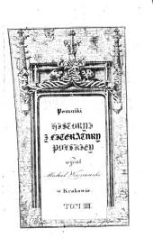 Pomniki historyi i literatury polskiéj: Rozprawy Tadeusza Czackiego, Tom 3