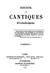 Recueil de cantiques évangéliques