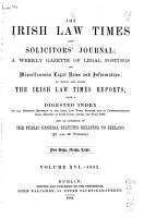 The Irish Law Times and Solicitors  Journal PDF