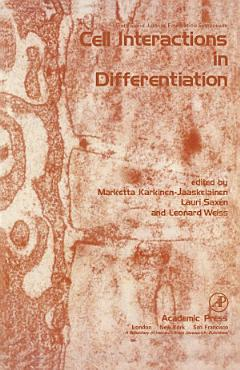 Cell Interactions in Differentiation PDF