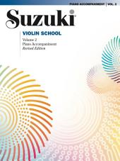 Suzuki Violin School - Volume 2 (Revised): Piano Accompaniment