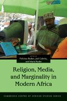 Religion  Media  and Marginality in Modern Africa PDF