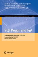 VLSI Design and Test PDF