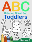ABC Coloring Books for Toddlers Series 8
