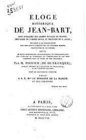 Éloge historique de Jean-Bart, ... relatif à la collection des dix-neuf combats de ce célèbre marin, gravés par M. Le Gouaz