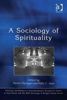 A Sociology of Spirituality PDF