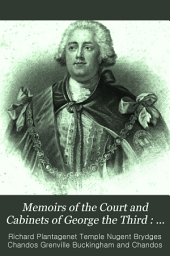 Memoirs of the Court and Cabinets of George the Third: 1782-1788