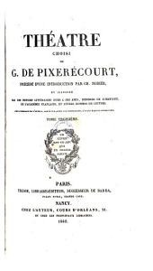 Theatre choisi precede d'une introduction par Ch. Nodier (etc.)