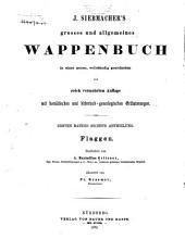 J. Siebmacher's grosses und allgemeines wappenbuch: in verbindung mit mehreren, neu herausgegeben und mit historischen, genealogischen und heraldischen notizen, Band 1,Teil 6
