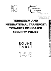 ITF Round Tables Terrorism and International Transport PDF