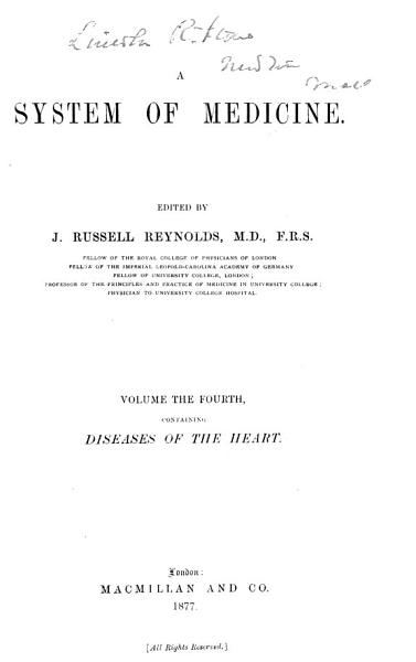 Download A System of Medicine  Local diseases Book