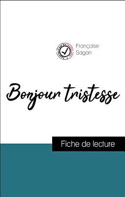 Bonjour tristesse de Fran  oise Sagan  fiche de lecture de r  f  rence  PDF