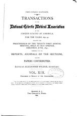 Transactions of the National Eclectic Medical Association of the United States of America for the Years     PDF
