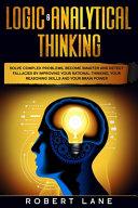 Logic   Analytical Thinking PDF