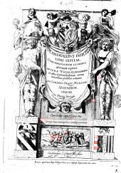 De animalibus insectis libri septem, cum singulorum iconibus ad viuum expressis. Autore Vlysse Aldrouando in almo Gymnasio Bonon: ... Cum indice copiosissimo