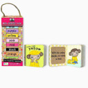 green start book towers  little color books  10 Chunky Books Made from 98  Recycled Materials