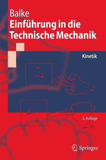 Einf  hrung in die Technische Mechanik PDF