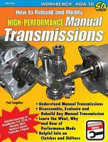 How to Rebuild and Modify High Performance Manual Transmissions PDF