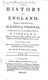 The History of England: Volume 6