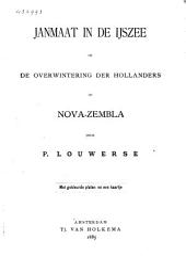 Janmaat in de IJszee of De overwintering der Hollanders op Nova-Zembla