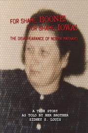 For Shame  Boone  For Shame  Iowa  The Disappearance of Norma Maynard PDF