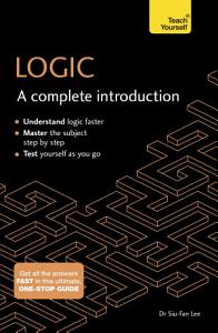 Logic  A Complete Introduction  Teach Yourself PDF
