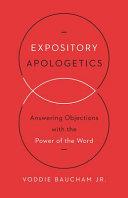 Expository Apologetics PDF