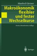 Makro  konomik flexibler und fester Wechselkurse PDF