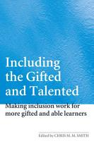 Including the Gifted and Talented PDF