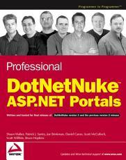 Professional DotNetNuke ASP NET Portals PDF