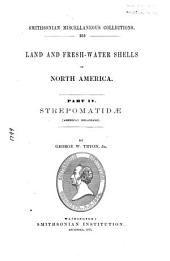 Land and Fresh Water Shells of North America: Part 4