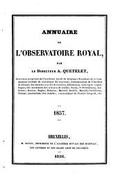 Annuaire de l'Observatoire Royal de Bruxelles: Volume24