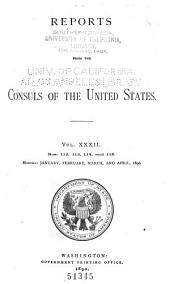 Consular Reports: Commerce, Manufactures, Etc, Volume 32, Issues 112-115
