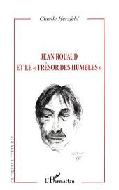 """Jean Rouaud et le """"trésor des humbles"""""""