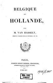 L'Univers. Histoire et description de tous les peuples. 1,29. Belgique et Hollande