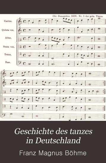Geschichte des tanzes in Deutschland PDF