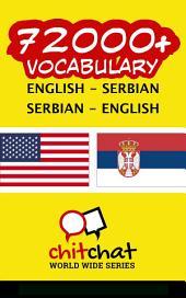 72000+ English - Serbian Serbian - English Vocabulary