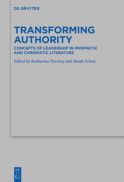 Transforming Authority