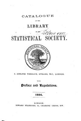 Catalog of the Library of the Statistical Society PDF