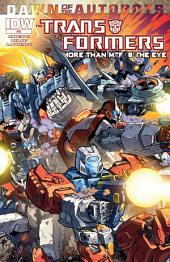 Transformers: More Than Meets the Eye #32 - Dawn of the Autobots
