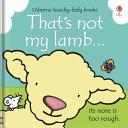 That's Not My Lamb...