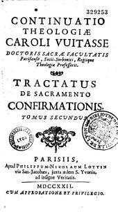 Tractatus de sacramento confirmationis