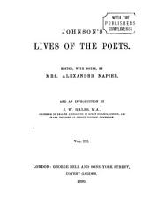 Lives of the Poets: Volume 3
