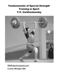 Fundamentals Of Special Strength Training In Sport Book PDF