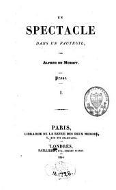 Un spectacle dans un fauteuil: prose et poésie, Volume2